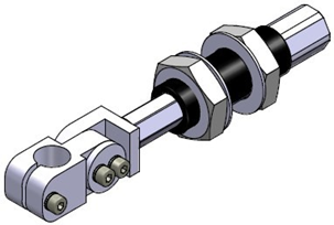 Threaded-body non-rotative suspension SMNG